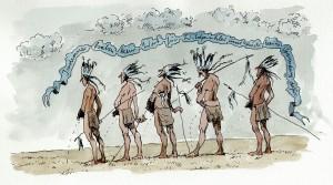 Indianer haben kein Wort für Wildpinkler und auch keine Verwendung dafür